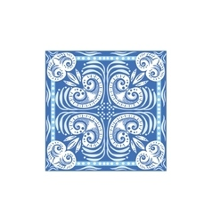 Azulejo tile portuguese famous symbol vector