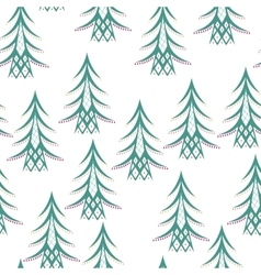 Colored Winter Seamless Pattern vector