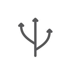 Flexibility line icon vector