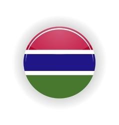 Gambia icon circle vector