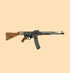 German ww2 gun riffle stg 44 vector