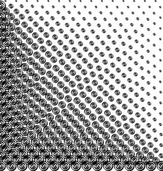 Halftone helix vector image