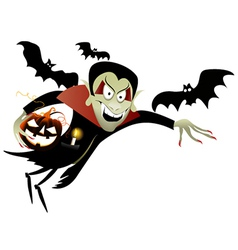 Halloween vampire vector