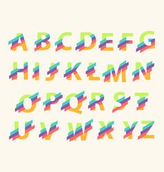 Letter alphabet logo design template elements vector