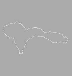 map of sao nicolau vector image