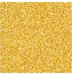 Gold glitter texture Design element vector image vector image