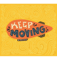 Keep moving vector