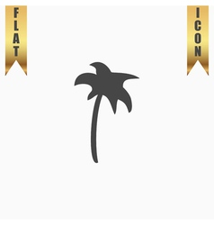 Palm icon in vector image vector image