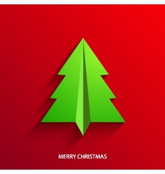concept christmas tree vector image vector image