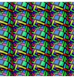 egg rectangle pattern vector image