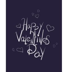 sketchy love and doodles inscription vector image vector image