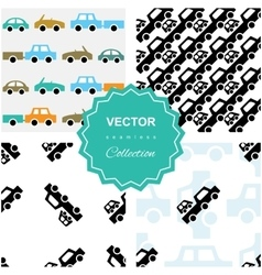 Auto service or car repair background vector image