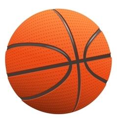 Basketball Ball for basketball vector image