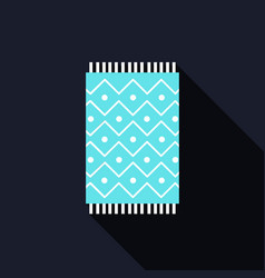 Carpet icon vector