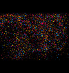colorful explosion of confetti colored stains and vector image