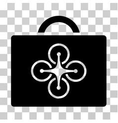 drone toolcase icon vector image