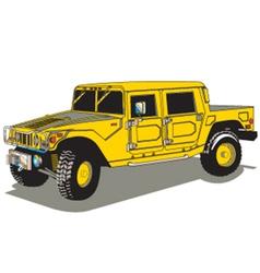 Hummer vector image