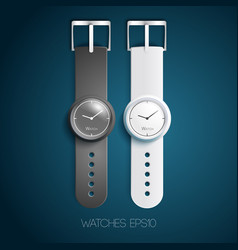 mechanical watches design concept vector image