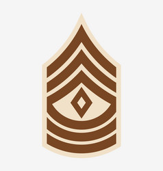 Military ranks and insignia stripes and chevrons vector