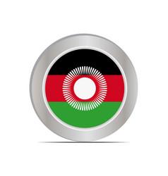 National flag republic malawi vector