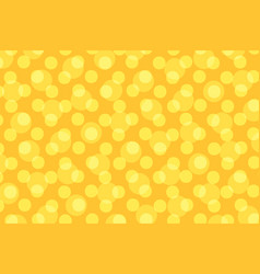 pop art yellow background polka dot vector image