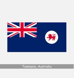 Tasmania australia state flag tassie tas au vector