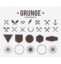 Grunge Design Elements vector image vector image
