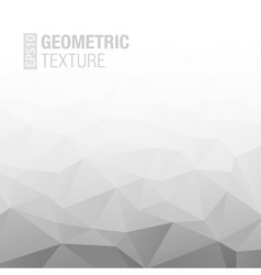 Abstract Gradient Gray White Geometric Background vector image vector image