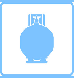 gas cylinder icon vector image