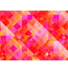 Abstract geometric background with red and purple vector image