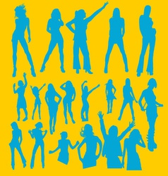 Dancing Girl 1 vector
