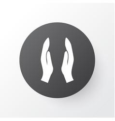 Dua icon symbol premium quality isolated worship vector