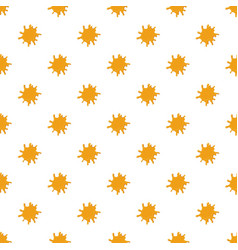 Large puddle of honey pattern vector