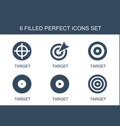Perfect icons vector