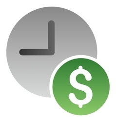 Recurring Payments Gradient Icon vector