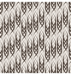 Seamless abstract pattern of intertwined vector image
