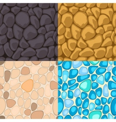 Seamless stone vector