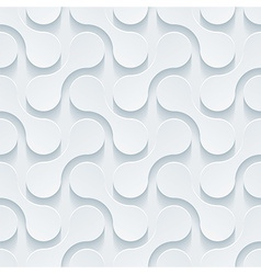 White perforated paper vector