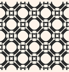 simple monochrome geometric ornament seamless vector image