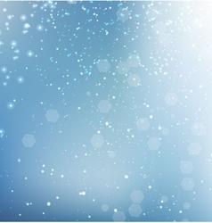 Blue glittering sparkle background vector image