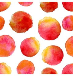 round water color background vector image