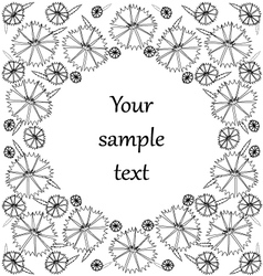 Texture of the flowers vector image vector image