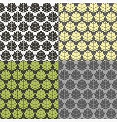 Humulus pattern vector image