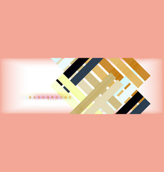 color stripes and lines geometric abstract vector image