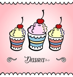 IceCreamCard vector image