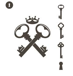 Key Set vector image
