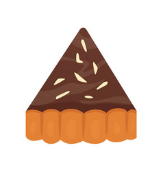 Sweets chocolate dessert objects collection pie vector