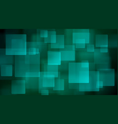 light blue abstract background of blurry squares vector image vector image
