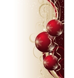 contains the image of christmas vector image