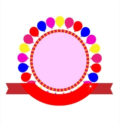 Party celebration template vector